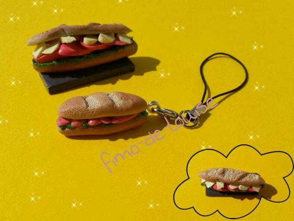 Miniature sandwish et strap