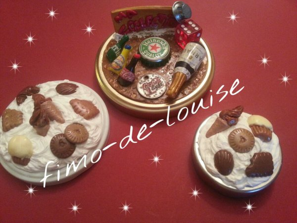 couvercle gourmandises et collection