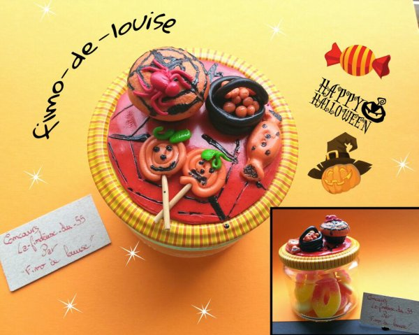 Concours theme gourmandise