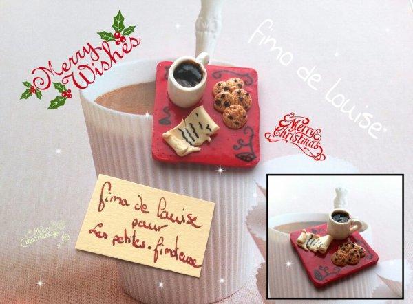 Goûter pour le père Noël