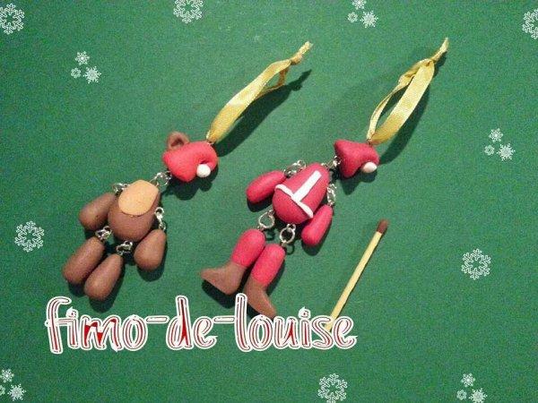 Pantins de Noël