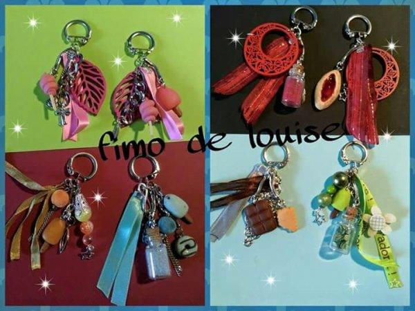 Porte clés bijoux fantaisie