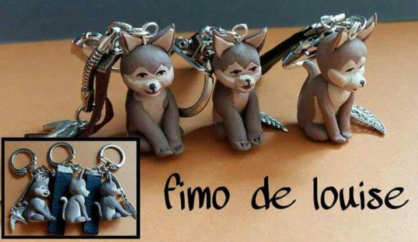Porte clé  chien !!!!