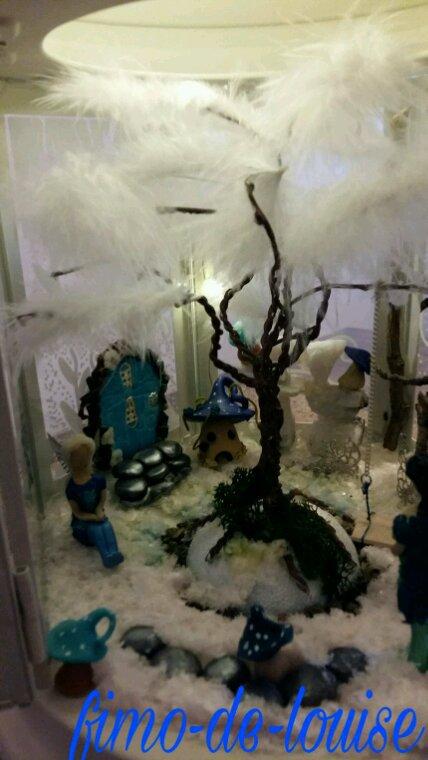 Lanterne reine des neiges