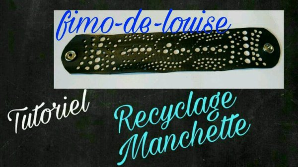 Bracelet recyclage ???