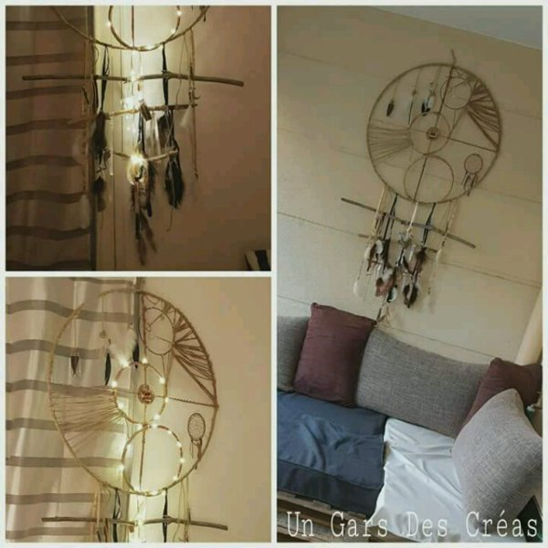 Dreamcatcher illuminé