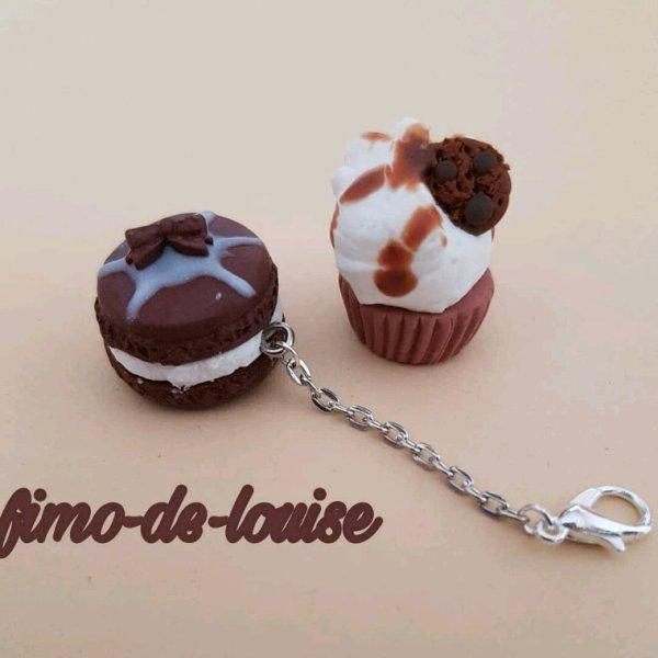 Chocolats  #macaron #cupcake