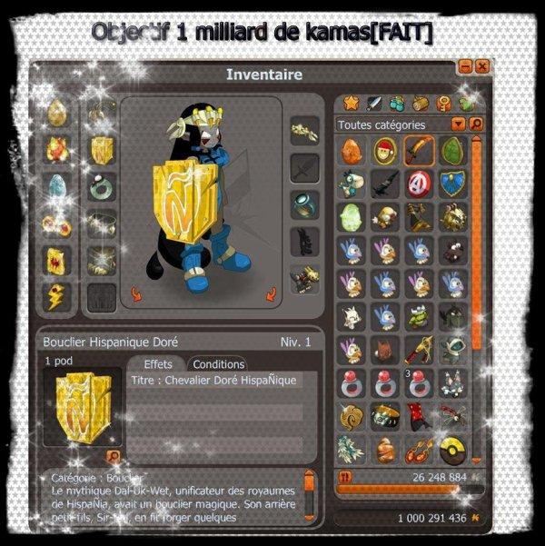 News de la Team Oxyde- Objectif 1 milliard de kamas [ FAIT] !