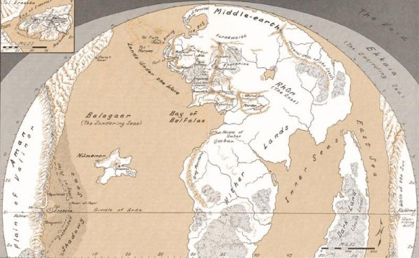Carte du d'Arda