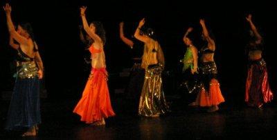 Mon premier spectacle de danse orientale