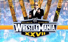 WRESTLEMANIA 27 ( Version Francaise )