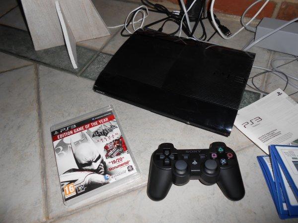 Noel ! PS3 + Jeu batman