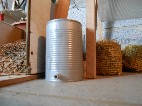 Nouvelle cuve pour le pulverisateur