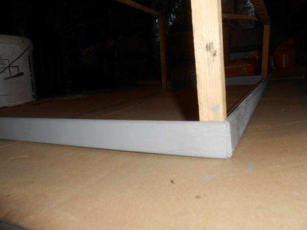 Projet : modification batiment : voila un grand batiment presque achever manque plus que la toiture et les cotes
