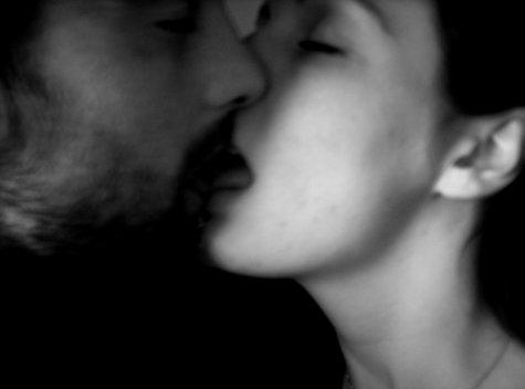 Doux et tendre baiser