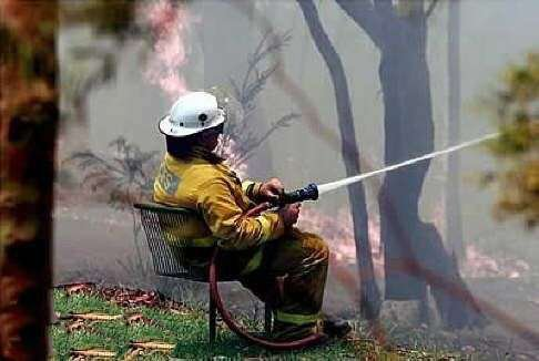 humour chez les pompiers