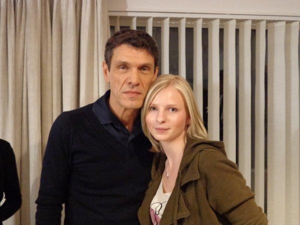 Avec Marc Lavoine <3