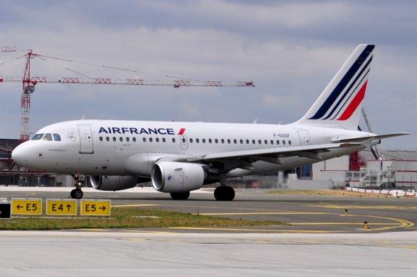 Airbus A318 Air France - Nouvelle Livrée