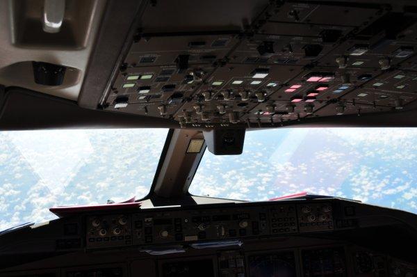 Cockpit du F-GSQO