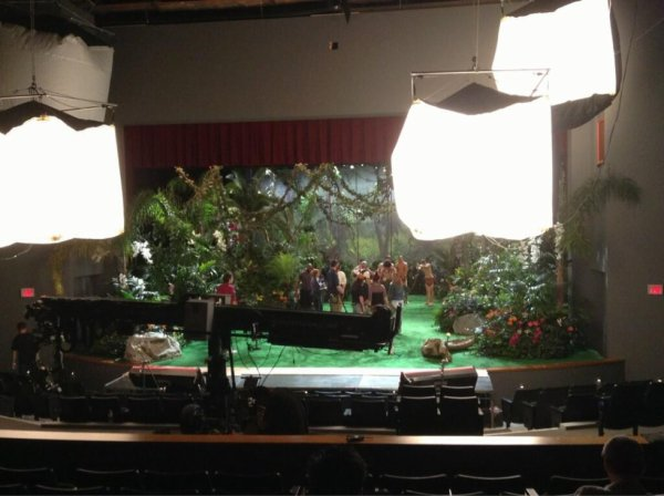 03/10/13 : Tournage de Glee