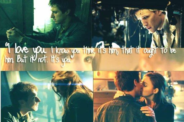 """""""Je t'aime. Je sais que tu penses que c'est lui, que ça devrait être lui. Mais non. C'est toi."""""""