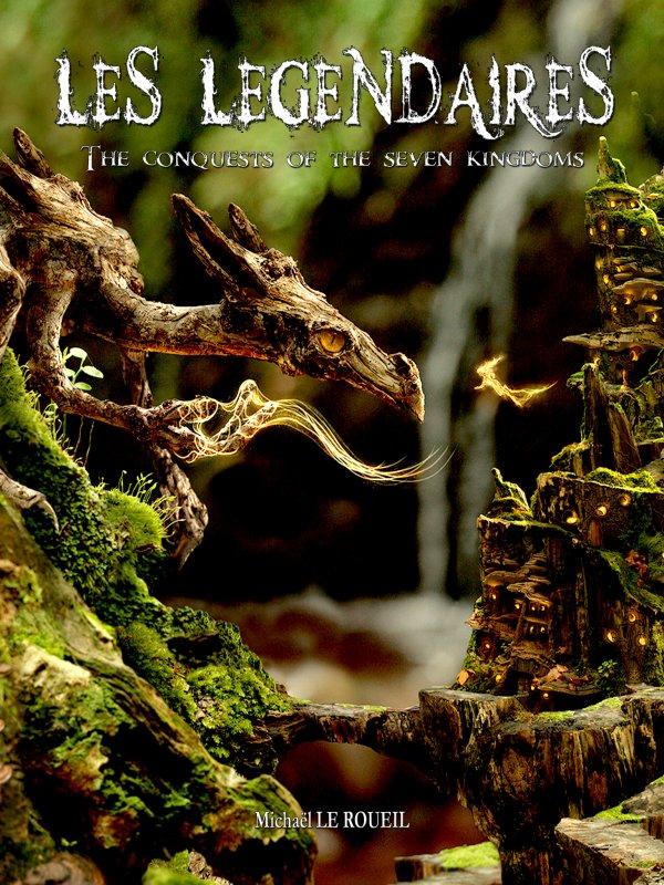 Livre Heroic Fantasy - Les légendaires