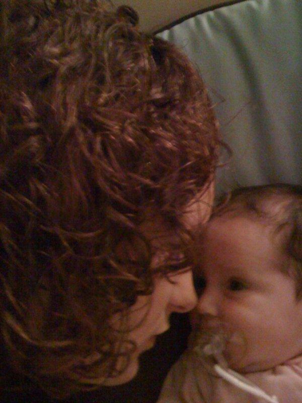 Moi et mon bbey a la sortie de materniter