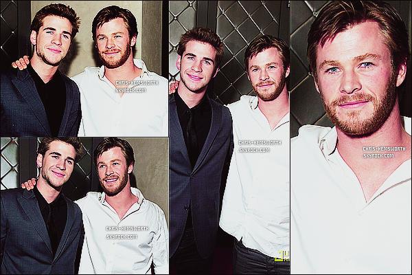 25/03/2010 : Chris est venu soutenir son petit frère Liam à la première de « The Last Song »  a   Hollywood   Il n'y a malheureusement très peu de photos de cet event c'est dommage  + Ceci est un article flashback visant a compléter le blog