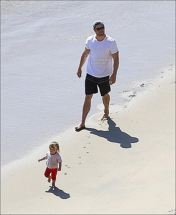13/03/2014 : Chris Hemsworth  à été vu  faisant une balade en vélo avec sa fille  India Rose  direction la plage       Magnifique candid. , magnifique sortie entre père et fille. Chris profite des derniers instants avec sa fille avant l'arrivée de ses jumeaux