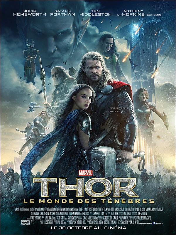 ● ●   Découvre un nouveau trailer de  « Thor 2 the Dark World » + une nouvelle affiche ● ●