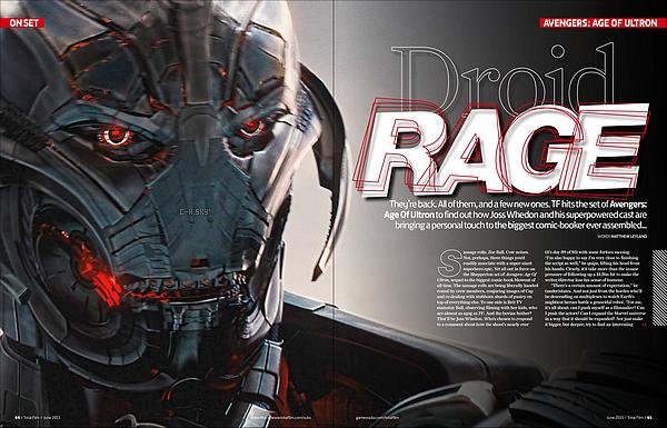 → Chris Hemsworth et ses co-stars font la couverture du magazine « Total Film» de Juin 2015