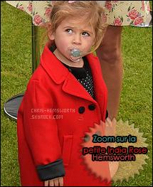 . 31/05/2015 :Chris et sa famille ont rencontrés les Princes William et Harry lors d'un  Tournoi de Polo à Londres Chris Hemsworth était accompagné de sa femme Elsa Pataky et de leur fille aînée: India Rose , ils ont également posé avec Emily Blunt .