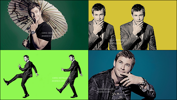 . Découvre des portraits de Chris Hemsworth pour « Saturday Night Live ».