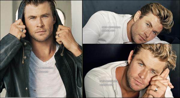 """Découvre un nouveau photoshoot de Chris pour le magazine """"Vanity Fair"""" sublime !"""