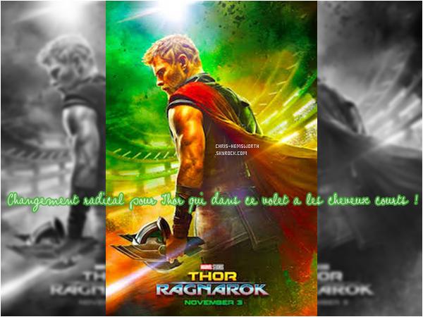 Découvre le poster officiel de Thor 3 : Ragnarok qui sort le 25 Octobre 2017 ! )