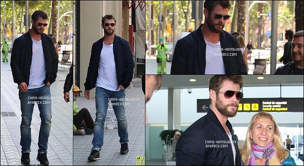 01/05/2017 : Pour cette première sortie de Mai  Chris s'est rendu dans la ville de Barcelone en Espagne