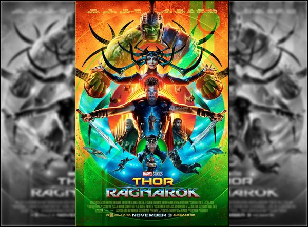 Découvrez la bande annonce de Thor Ragnarok , sortie le 25 Octobre - et l'affiche