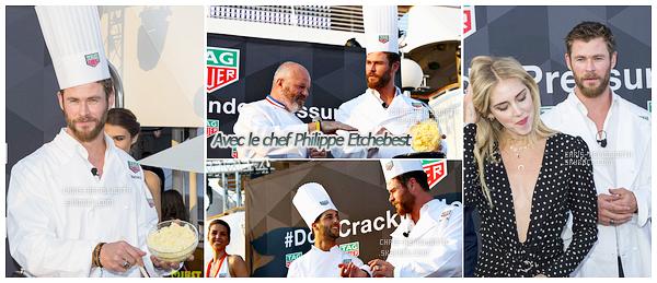 28/05/2017 : Chris H. était à Monaco,  en France pour ses vacances et a assisté au grand prix de Formule 1