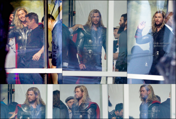"01.11.2017 : Chris Hemsworth était sur le tournage de Avengers 4  ""Infinity War"" qui est à Atlanta en Géorgie   Il y'avait la doublure de Tom Hiddleston (Loki) - Thor a les cheveux longs , le film se passe t'il avant Thor Ragnarok ?"