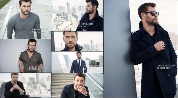 Découvre le photoshoot de Chris de 2017 pour la marque de parfum « Hugo Boss »