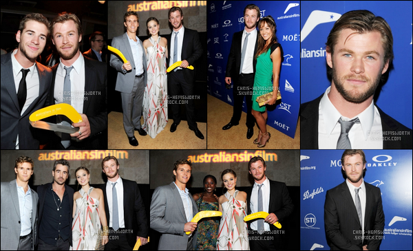"""13.05.2010 : Chris Hemsworth a assisté aux """"Breakthrough Awards"""" qui se sont déroulés à Beverly Hills"""