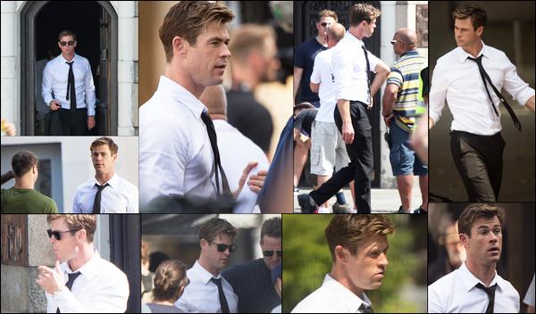 08.07.2018 :  Chris Hemsworth , a commencé le tournage pour le film « Men in Black 4 »  dans la ville de Londres