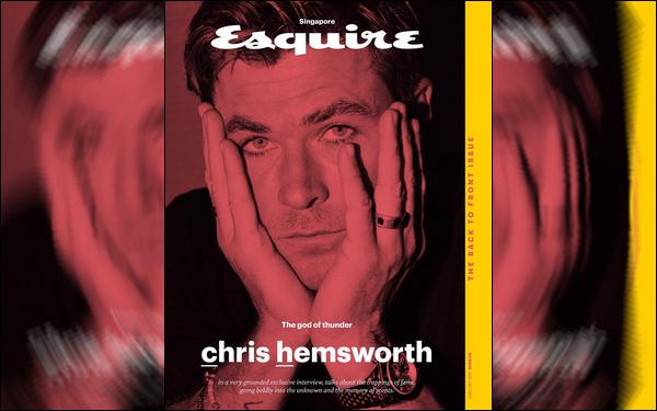 Découvre un photoshoot de Chris pour le magazine « ESQUIRE » d'Août 2018