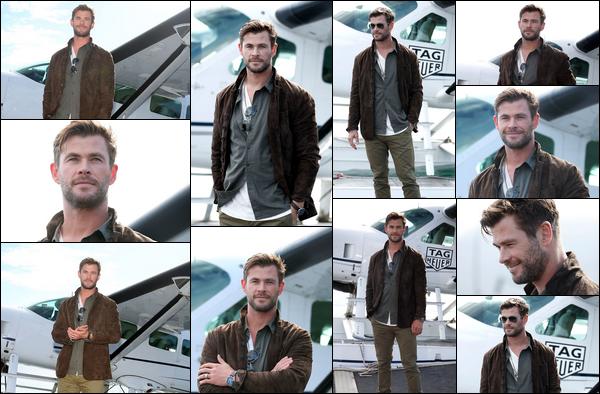 26.06.2019   ▬ Chris Hemsworth était au « TAG Heuer Autavia Collection launch » situé à Sydney en Australie  Les photos sont vraiment magnifiques , ça fait très plaisir de voir Chris Hemsworth de sortie en cette fin du mois de Juin