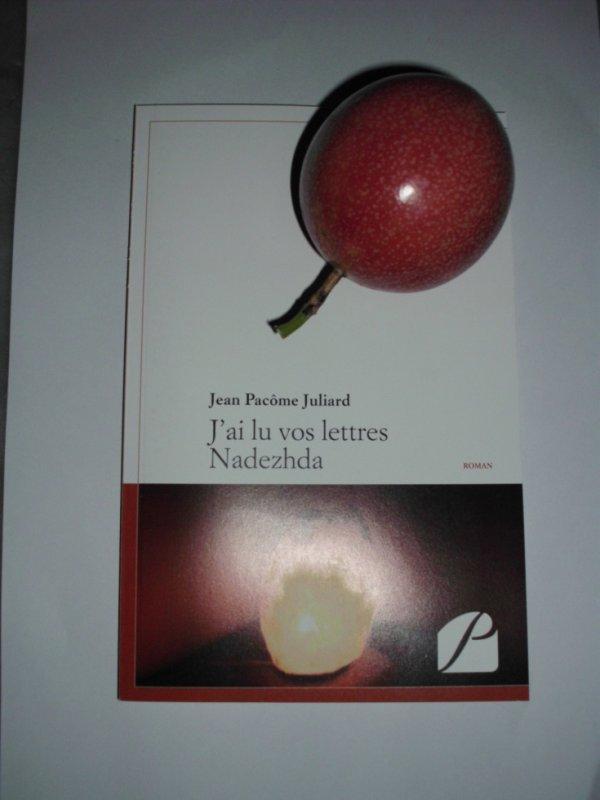 Jean Pacôme JULIARD pour son premier roman