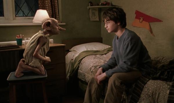 Première visite de Dobby à Harry
