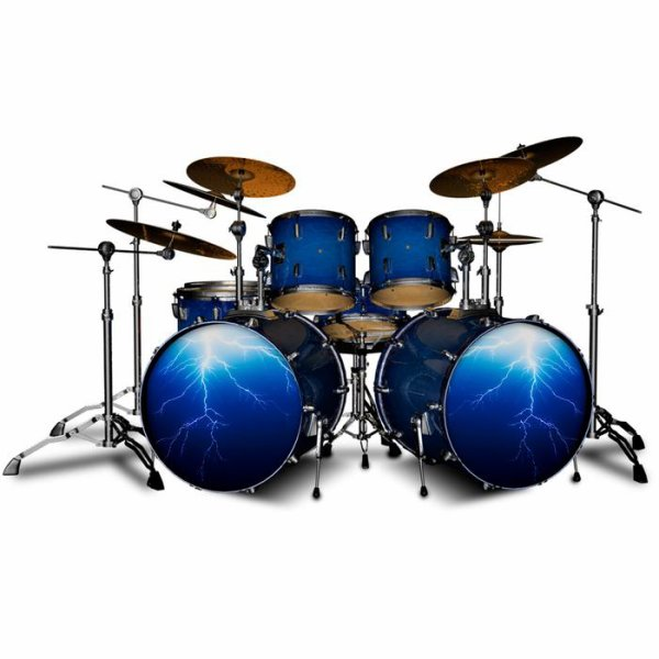 The Rockskins Drum Wraps Advantage