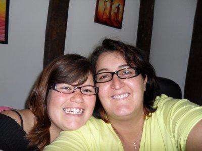 une ptite photo de moi et de ma miss Marion