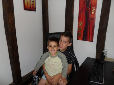 Mon fils Clément et le ptit dernier doudou