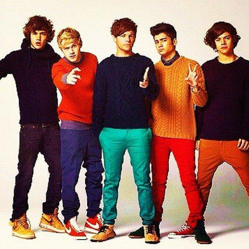 Les One Direction ? Ils sont mieux que tout.